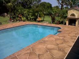 Swimming pool deck facts