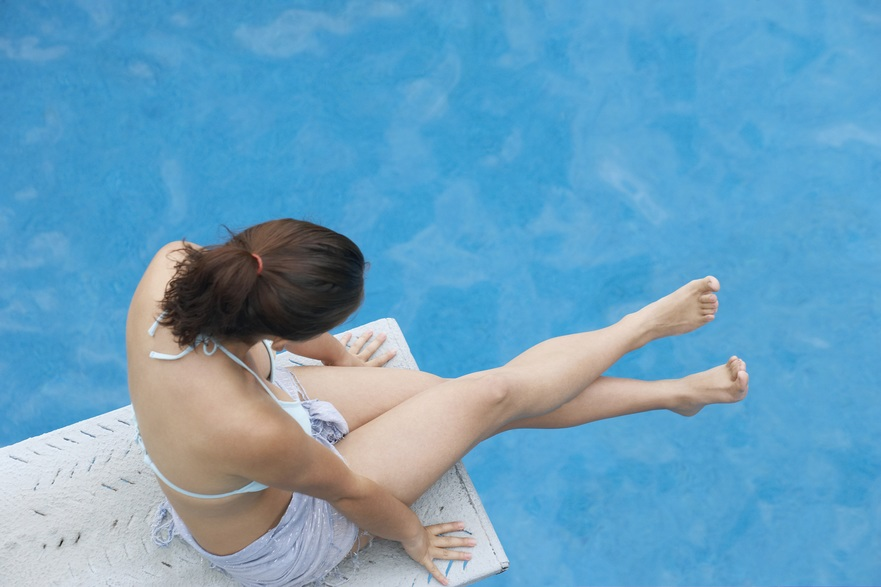 How to be safe on a diving board